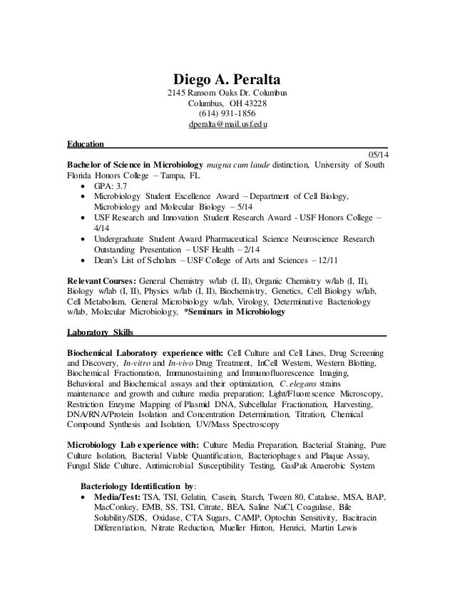 Cell Biology Resume