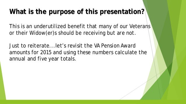 VA IMPROVED PENSION WITH A&A INFORMATION SEMINAR- PDF