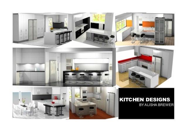 KITCHEN DESIGNS BY ALISHA BREWER