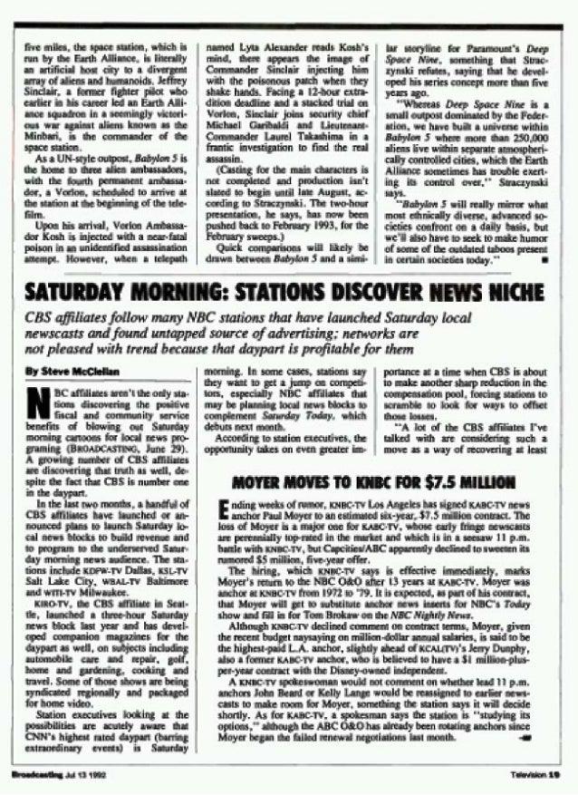 Babylon 5 & Time Trax_Warner Bros._exclusive_071592 Slide 3