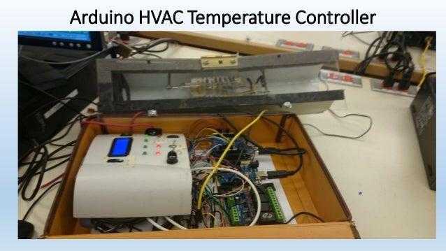 Arduino HVAC Temperature Controller