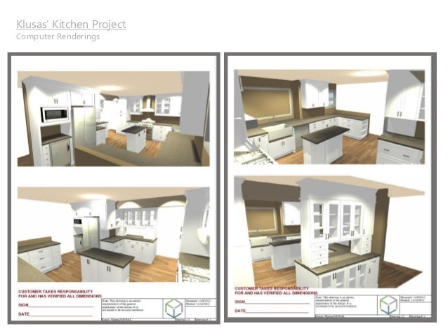 Superieur Klusasu0027 Kitchen Project Computer Renderings ...