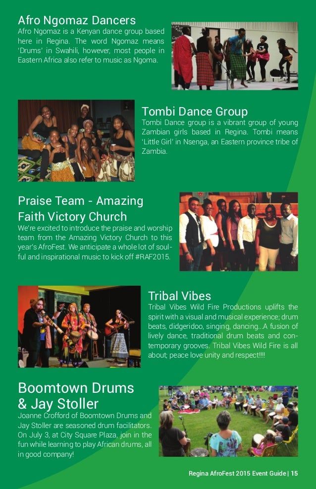 Regina AfroFest Event Program-web version