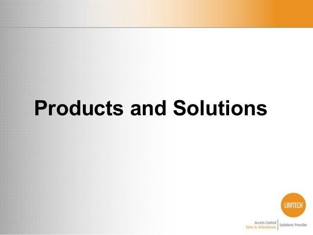 Limtech Presentation Product