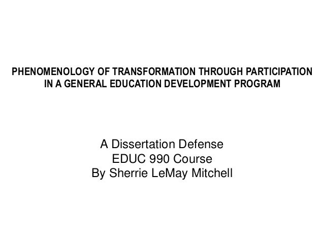 Mitchell phd thesis
