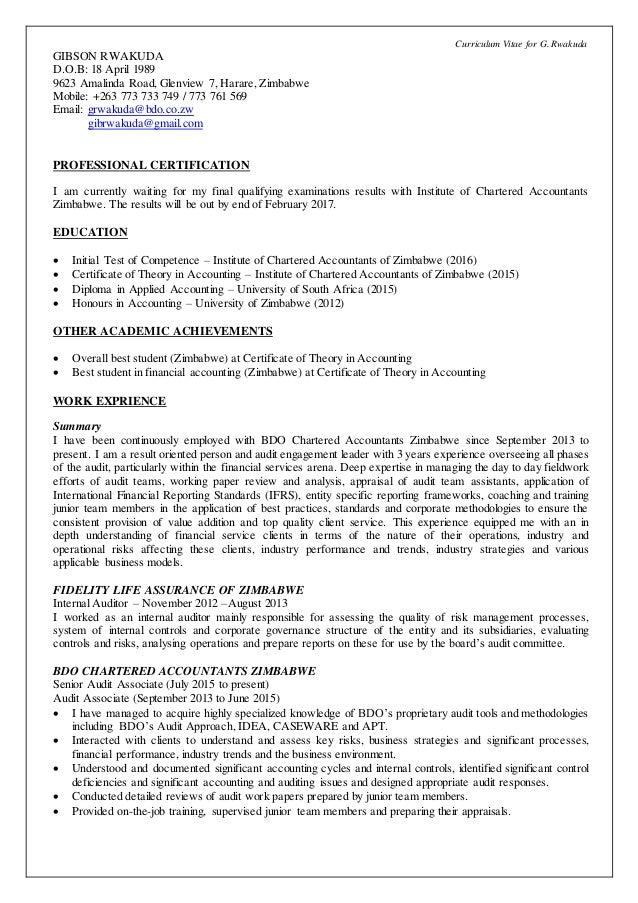 gibson rwakuda cv curriculum vitae for g rwakuda gibson rwakuda d o b 18 1989 9623 a nda road