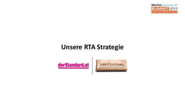 Unsere RTA Strategie