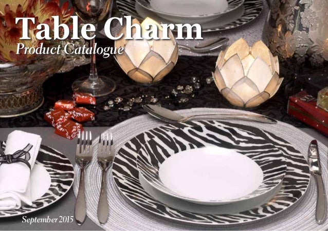 Table CharmProduct Catalogue September 2015
