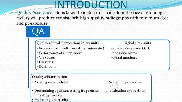 quality assurance in radiologic technology Ge inspection technologies x-ray film certification & quality assurance tools   structurix quality assurance tools are a set of practical, dedicated tools.