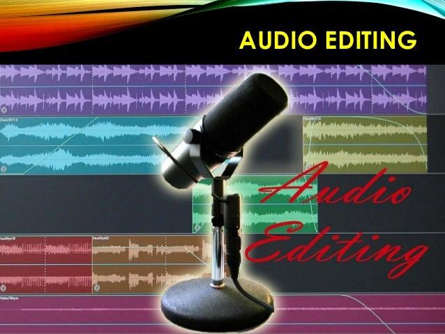 AUDIO EDITING TOOLSAUDIO EDITING TOOLS ToolsTools AUDACITYAUDACITY (Opensource) for Computer WAVEPADWAVEPAD Audio Editor F...