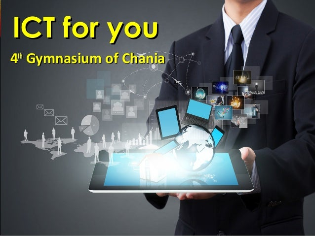 44thth Gymnasium of ChaniaGymnasium of Chania ICT for youICT for you