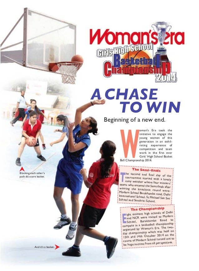 A CHASE TO WIN Beginning of a new end. W oman's Era took the initiative to engage the young women of this generation in an...