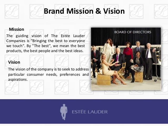 "estee lauder history and mission statement Estee lauder corporate video in full hd the estée lauder companies' bca campaign ""hear our stories share yours."