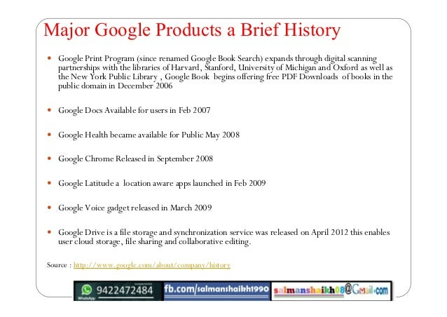32 google products