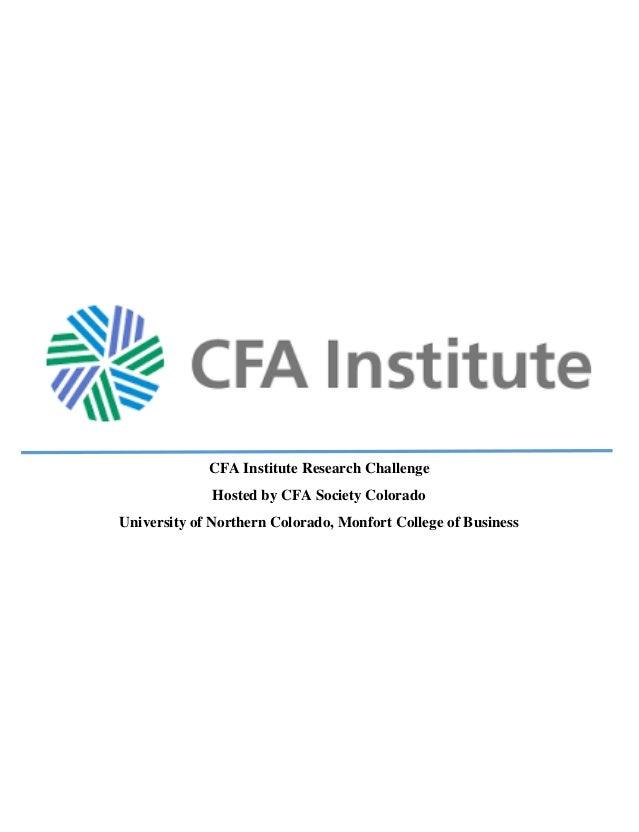Unc davita final paper cfa institute research challenge hosted by cfa society colorado university of northern colorado monfort college sciox Gallery