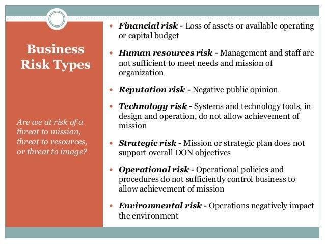 Categorizing Risk Level