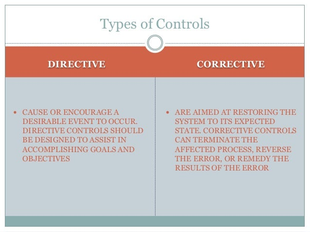 Conducting Control Assessments Internal control assessments can vary in format; however, documentation should:  Relate ea...