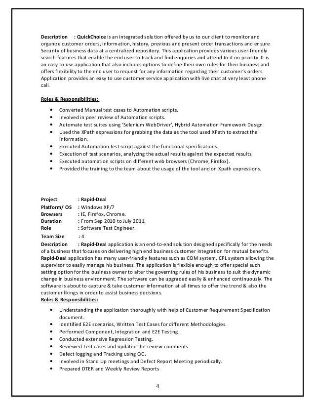 ganesh 5  years  exp  resume