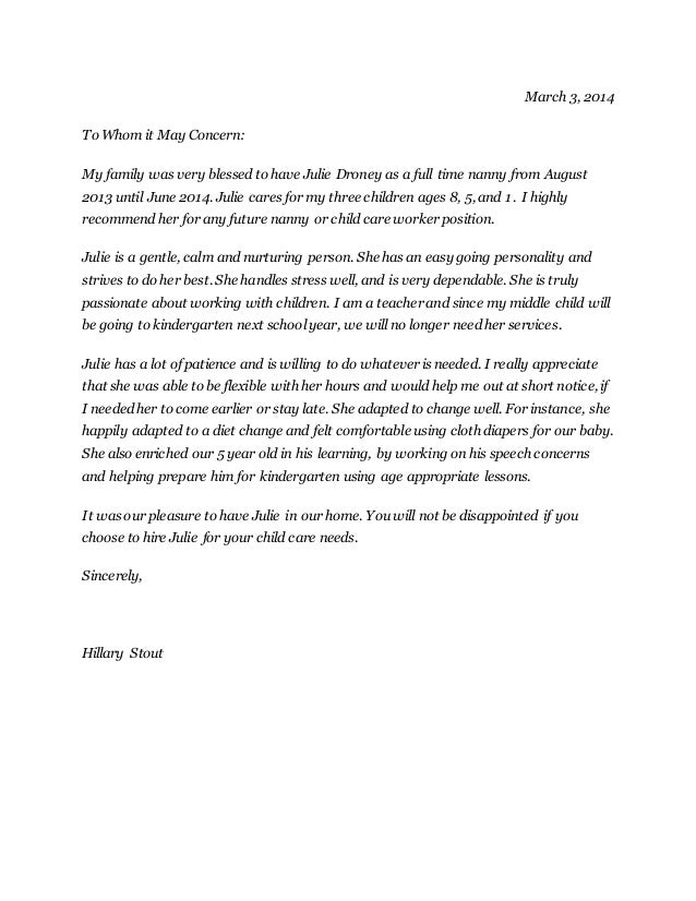 housekeeper sample cover letter cover letter templates examples