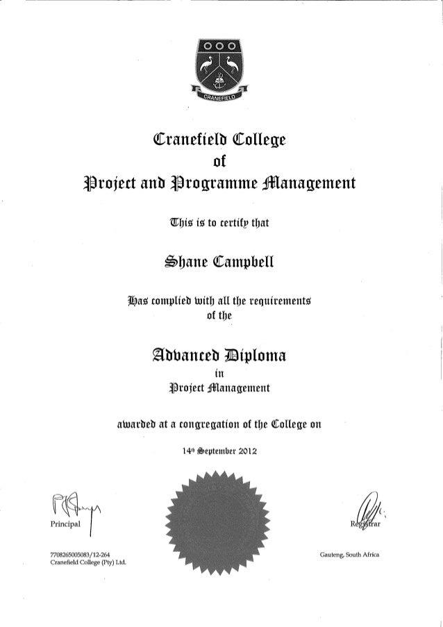 and programme management cranefield advance diploma project and programme management cranefield advance diploma