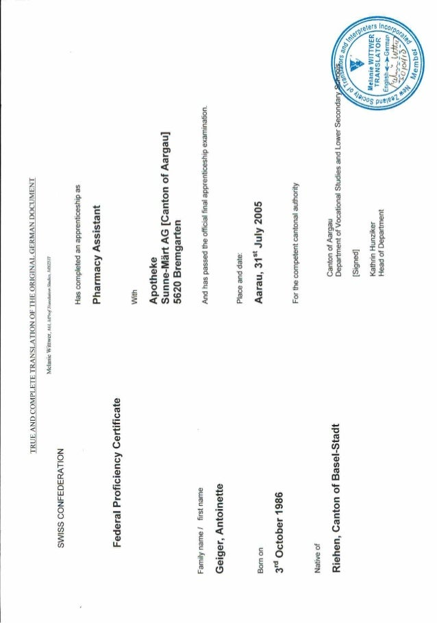 School Certificate 2 Translated.Pdf