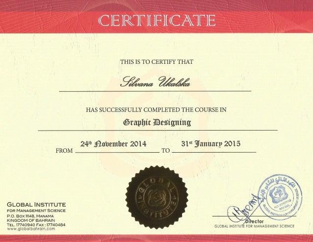 Linkedin Certification Graphic Design