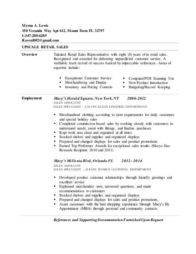 Myrna Resume