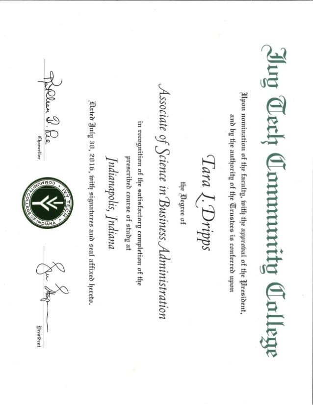 Associates Degree Ivy Tech Community College.PDF