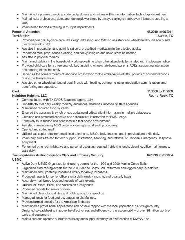 attitude in resume resume example 2018