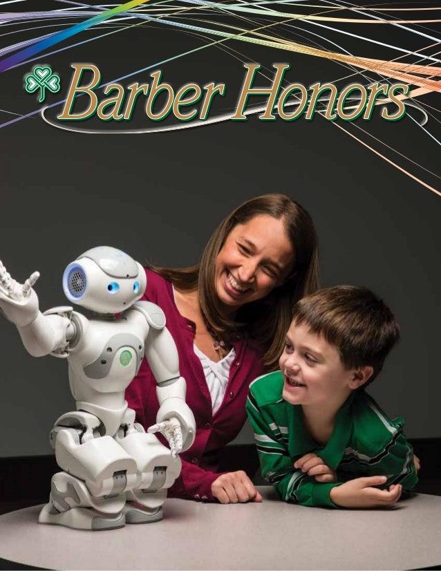 2013 Barber Honors