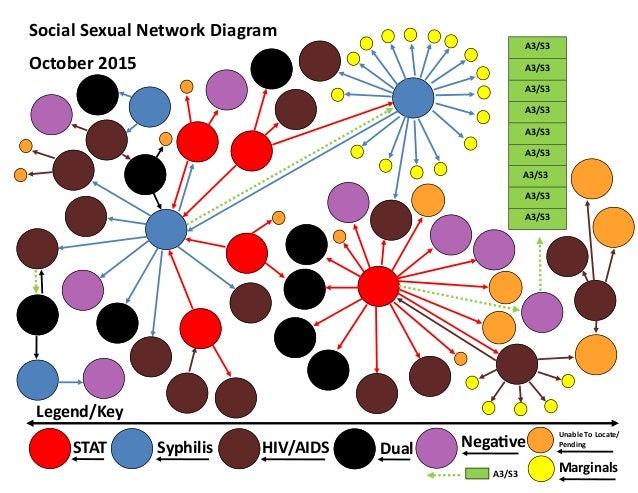 Sexual network diagram