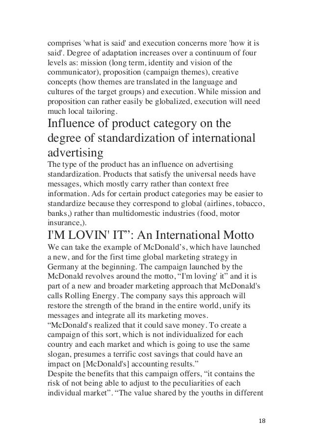 impact of internet on international marketing Impact of internet on international marketing essay paper will discuss the impact of internet on the international marketing spectrum one way to analyse this issue is through identifying the pros and cons of using internet as a marketing tool, and finally its implication for international marketers, professionals and academics information.