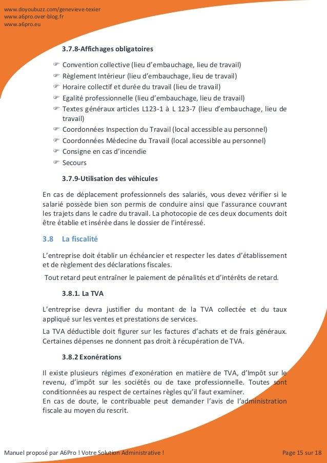 Manuel d 39 organisation administrative comptable et commerciale for Exemple de reglement interieur entreprise