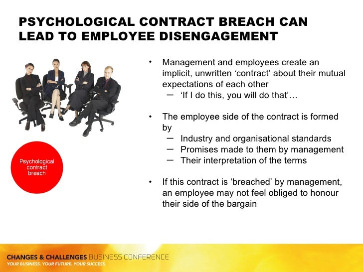 the psychological contract and its application In the process of mental health education,there essentially exists a psychological contract between the educators and the studentsthe psychological contract has a.