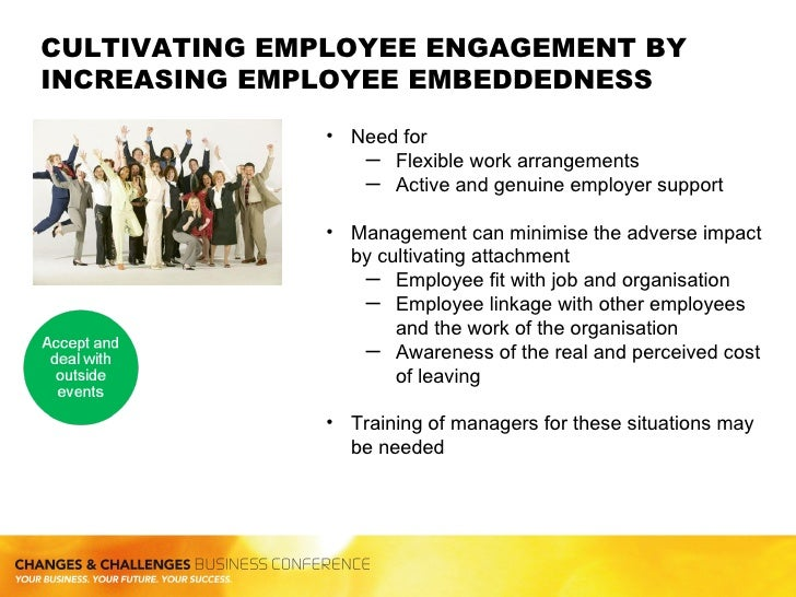 causes of employees disengagement Individual differences in adaptation to work dissatisfaction  and perhaps most of all to employees  disengagement, in which employees.