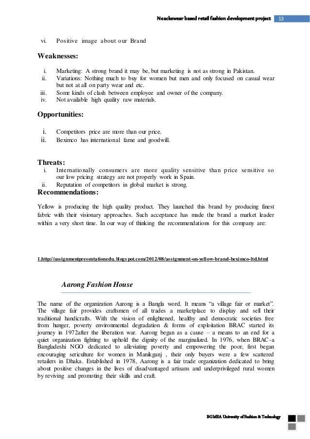 Fashion research paper