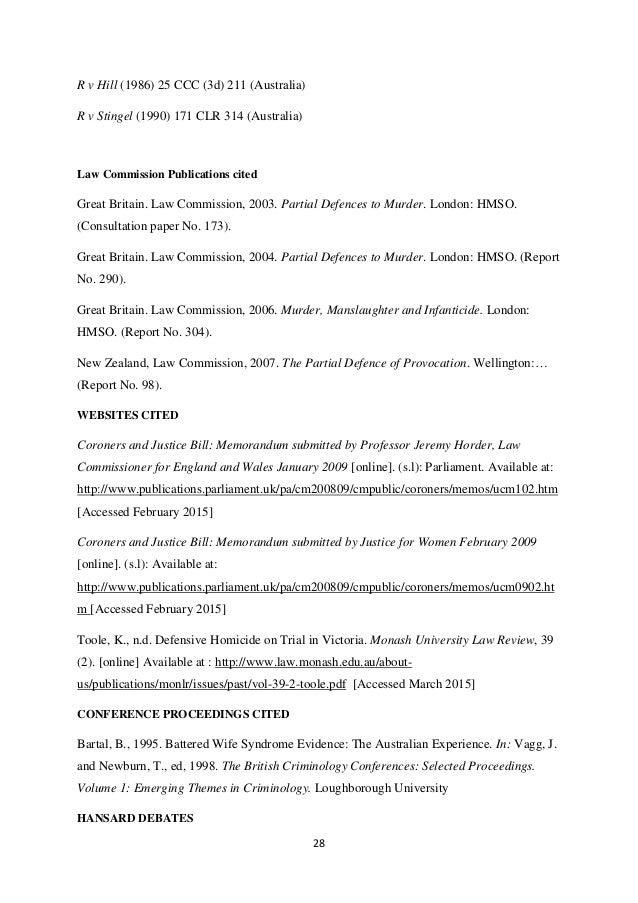 Theses and Dissertations (Criminology and Security Science)