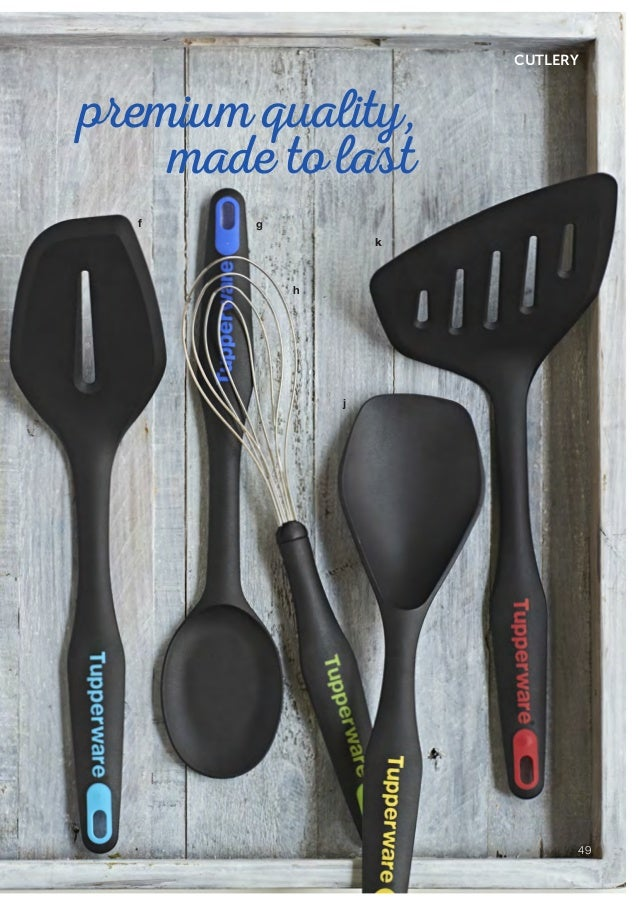 Tupperware ChefSeries Pro Kitchen-Utensils well designed Skinny Spatula spreader