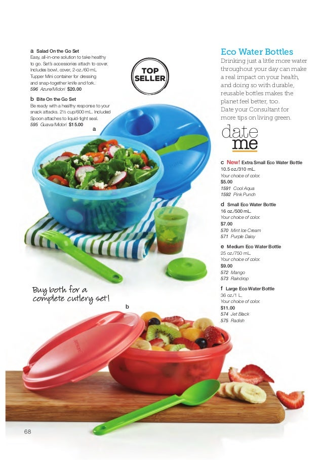 Tupperware summer 2015 full catalog for Catalogue cuisine pdf tours