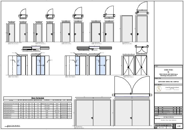 Door schedule layout restaurant restroom checklist for Schedule of doors and windows sample