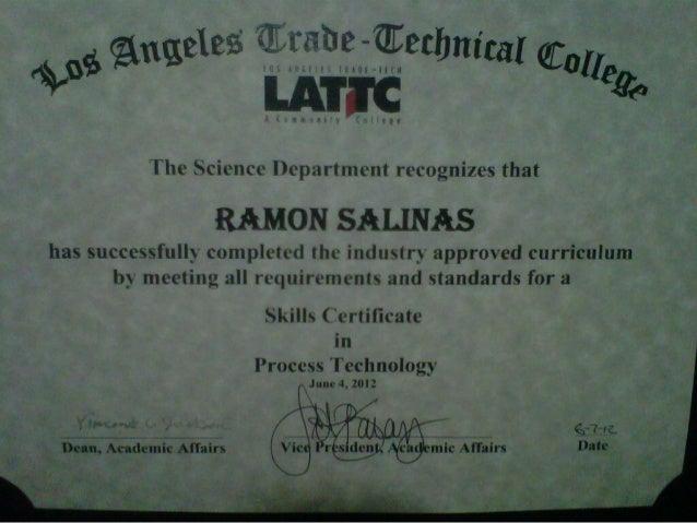 LATTC Diploma