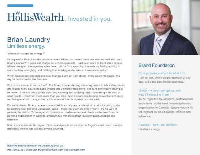 HWIAL BIO Brian Laundry