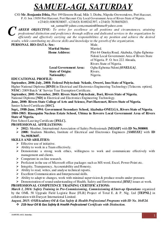 Sat_Sam's CV