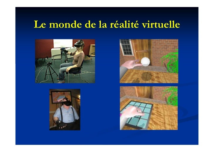 Le monde de la réalité virtuelle