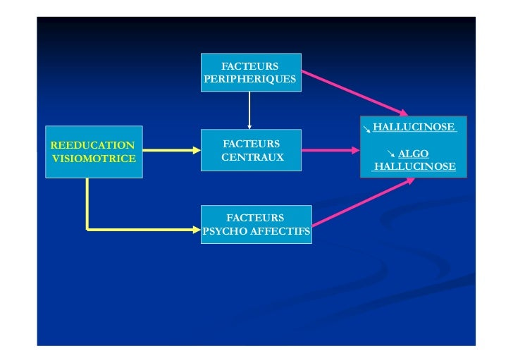 FACTEURS               PERIPHERIQUES                                  HALLUCINOSEREEDUCATION      FACTEURSVISIOMOTRICE    ...
