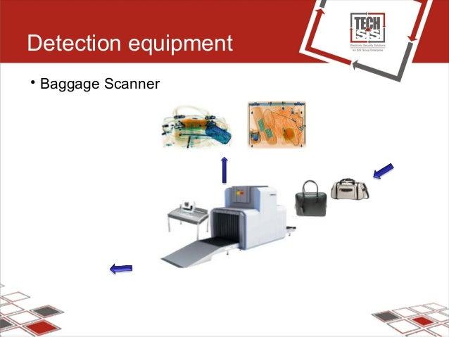 Detection equipment • Baggage Scanner