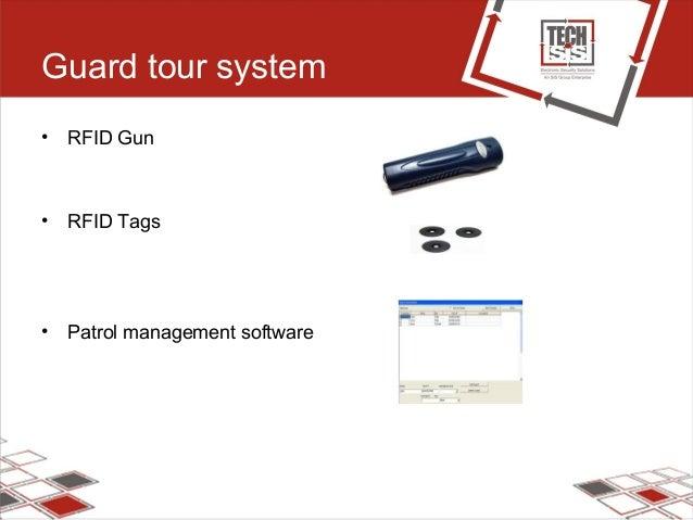 Guard tour system • RFID Gun • RFID Tags • Patrol management software