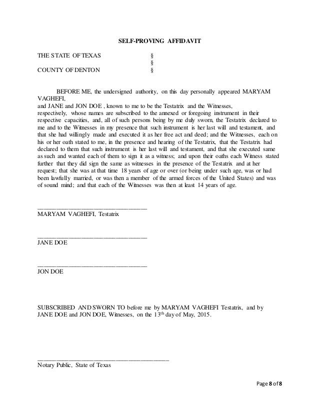 LAST WILL AND TESTAMENT final