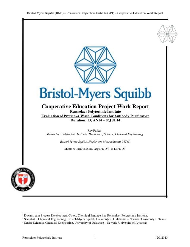 an analysis of the financial reports of the bristol myers squibb company The bristol-myers squibb sustainability website is a gri-based report, following the criteria in the global reporting initiative (gri) g4 sustainability reporting guidelines view the report & related information.