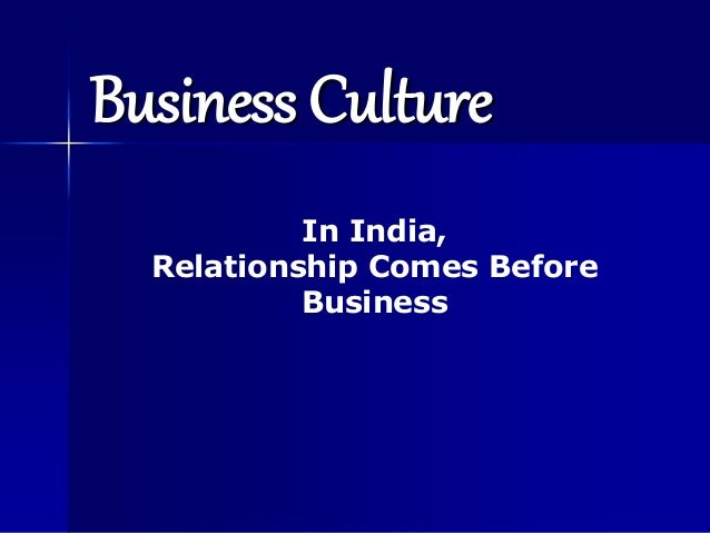 indian relationship culture